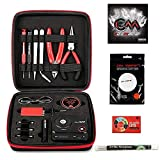 Coil Master 100% authentische DIY KIT V3 Tool SET mit spätesten Spule Jig (V4) /NEU 521 Tab Mini-Ohm-Leser V2/ Pinzette / hitzebeständige Draht NEUESTE Tool Kit, exklusive LifeMods Bundle Edition
