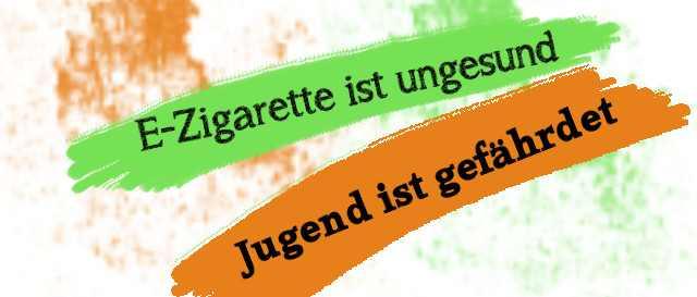 E-zigarette ist ungesund