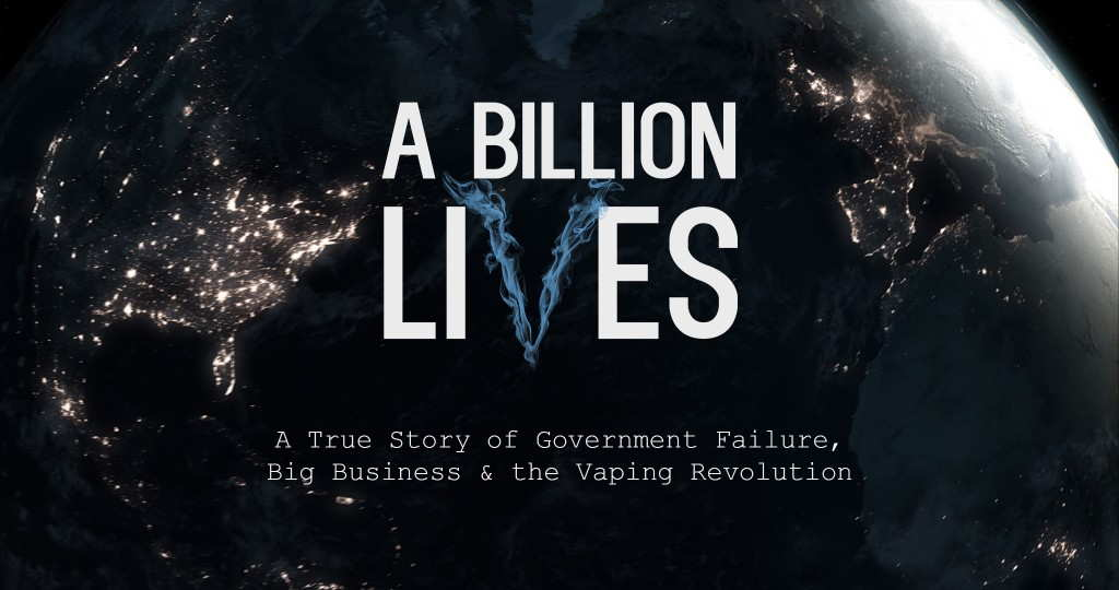 A billion lives - Filmplakat