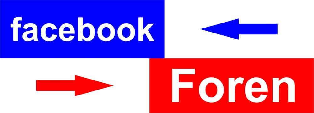 Facebook oder Foren