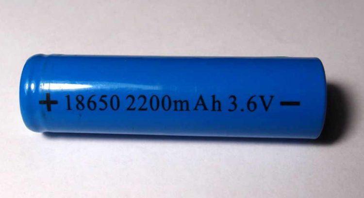 Akku 18650 für E-Zigarette
