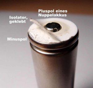 isolator - Akku 18650