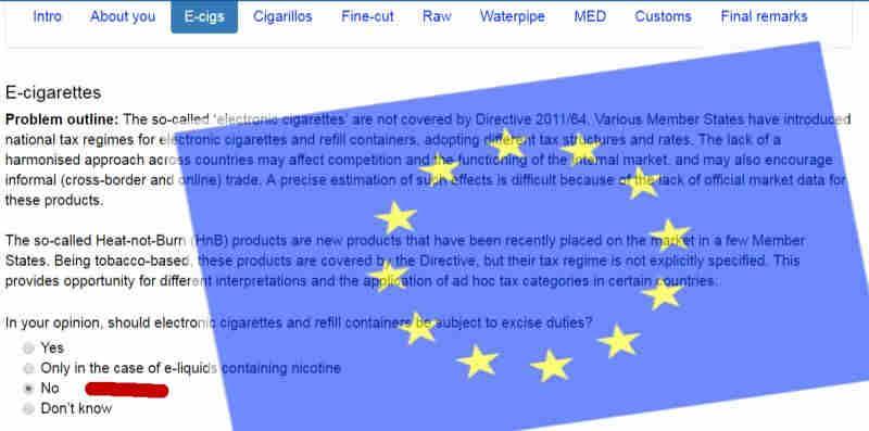 Abstimmung über Steuern für die E-Zigarette